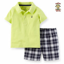 Carter's 2-pc Polo and Shorts Set 24 months Authentic and Brand New