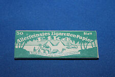 Original WW2 German 'Efka' Cigarette Rolling Papers Pack, Unissued, 50 Count