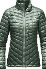 Women's North Face Thermoball Small Balsam Green Jacket Coat NWT $199