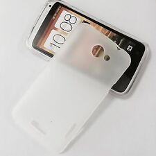 For HTC One X / XL / Edge / S720e Clear TPU Silicone Gel Case Skin Cover