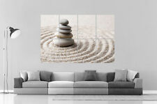 ZEN SPIRIT RELAXATION PEBBLE ON SAND format A0 Large Print