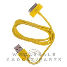 Apple iPhone 4/i4S Data Cable Yellow Sync USB Charger Cord Transfer Connector