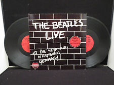 The Beatles Live In Hamburg Germany HIS 10982 Double LP Holland Pressing