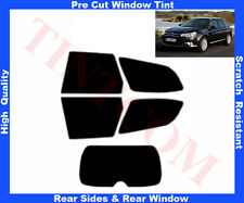 Pre Cut Window Tint Citroen C5 5D 2008-2012 Rear Window & Rear Sides Any Shade