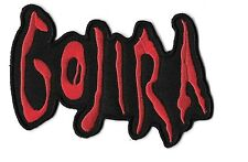 """New Gojira 'Red"""" 3 X 4 Inch Iron on Patch Free Shipping"""