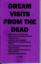 DREAM VISITS FROM THE DEAD book by S. Rob spirit contact spiritism