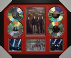 EAGLES 4CD SIGNED FRAMED MEMORABILIA LIMITED EDITION