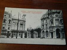 1917 CPA carte postale AK ANVERS STAMP Schiessplatz Brasschaet maschinengewehr