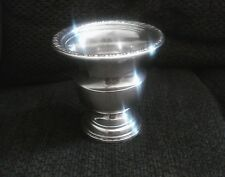 Vintage Antique Sterling Silver Urn / Goblet Shaped Toothpick Holder