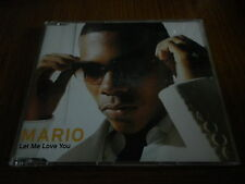 Mario ‎– Let Me Love You Cat No. 8 28766 82562 Cd Single