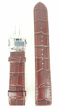 Original Seiko Premier Watch Band 6R20 00A0 Brown Leather Strap SPB003J1 Z 21 mm