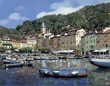 """Guido Borelli, Italy, """"Portofino"""", Digital print, 18""""h x 24""""w image"""
