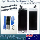 Front Glass Touch Screen LCD Display Digitizer Assembly for WHITE iPhone 5 AU