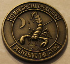 437th Military Airlift Wing Special Operations MAC Air Force Challenge Coin