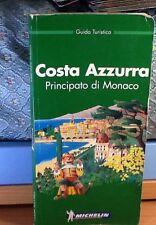 GUIDA TURISTICA-COSTA AZZURRA PRINCIP. MONACO-MICHELIN