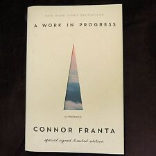 SIGNED!!!A Work in Progress by Connor Franta 2015, 1st /1st HC YOUTUBE SENSATION