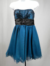 Speechless Formal Dress Juniors 7 short strapless Prom Cocktail Party Wedding