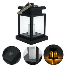 Fashion Solar Power Candle Lantern Light Garden Yard Wall Landscape Path Lamp