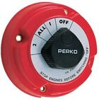 Perko Dual Battery Selector Switch Fishing Boat RV Semi 8501 1 2 On Off All New