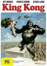 King Kong DVD REGION 4 PAL FORMAT