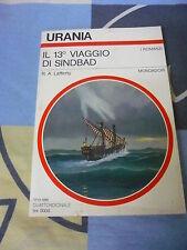 Il 13° tredicesimo viaggio di Sindbad R. A. Lafferty Urania 1166