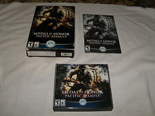 Medal of Honor Pacific Assault PC - Box and Manual only - no game