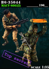 1/35 Scale Resin Figure kit ~ MACV-SOG (2) Vietnam war military models