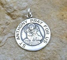 Sterling Silver - ST ANTHONY of PADUA MEDAL - 1389