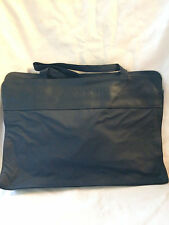 Navy Blue business Style Tote Bag in PVC Shoulder straps Brand New!     634