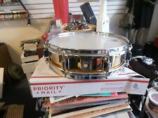Ludwig 3 1/2 by 13 bronze piccolo Snare Drum  (80's,early 90's)