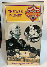 Doctor Who - The Web Planet (VHS, 1994) William Hartnell