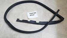 1992-1995 honda civic 2dr coupe hatch driver door  weatherstrip sub-seal oem