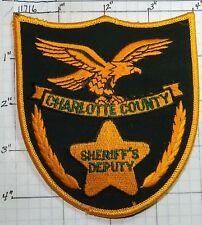 FLORIDA, CHARLOTTE COUNTY SHERIFF'S DEPUTY VERSION 2 PATCH