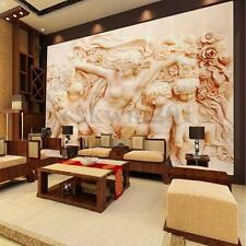 3D Wallpaper Bedroom Mural Roll Modern Roman Style Cherub Angel Wall Background