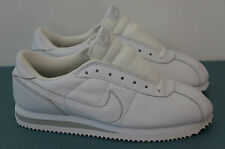 Nike Leather Cortez 1999 White Silver 10 US 9 UK Vintage Running Shoes Mens