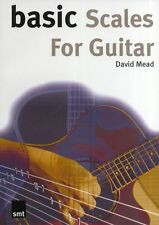 Basic Scales For Guitar Learn to Play Rock Pop Metal Funk Blues Music Book