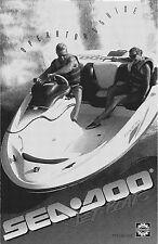 Sea-Doo Owners Manual Book 1995 Speedster