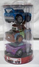 Disney Pixar Cars Pull Back Action 3-Pack The King Mater Ramone NEW