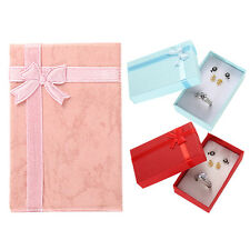 3Pcs Present Gift Boxes Case For Bangle Jewelry Ring Earrings Bracelet Box