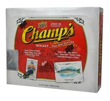 2015-16 Upper Deck Champs Hockey Hobby Box