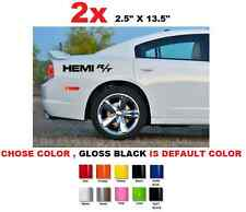 "(#346) 13.5"" Dodge Charger Challenger Hemi R/T RT HEMI DECALS STICKERS"
