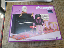 Playmobil 5300 VICTORIAN Mansion DOLLHOUSE 5551 Piano Plays Rare Sealed in Box