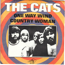 "7"" 45 TOURS FRANCE THE CATS ""One Way Wind / Country Woman"" 1971"