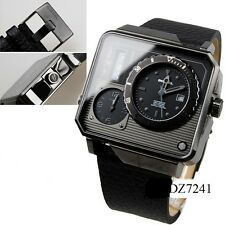 DIESEL MENS COLLECTION ANALOG AND DIGITAL TRIPLE TIME ZONE DZ7241