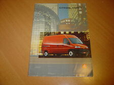 CATALOGUE Citroën Jumper de 1998 Belgique