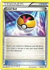 4x LEVEL BALL #76/98 XY Ancient Origins Pokemon Card Nonholo MINT
