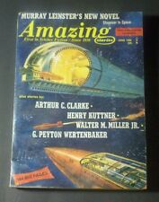 AMAZING STORIES June 1968 ARTHUR C. CLARKE Vintage Pulp Sci-Fi