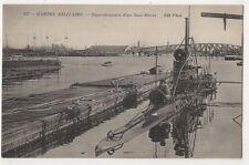 Superstructure d'un Sous-Marin, ND 337 French Submarine Postcard B635