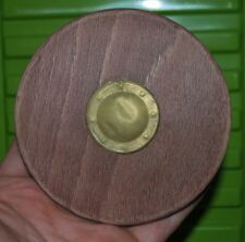 """Custom Wooden Viking Shield for 1/6 scale 12"""" Action Figure Man. Knight Dragon 2"""