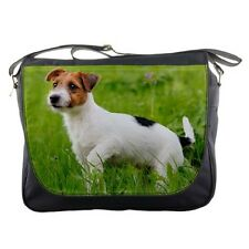 JACK RUSSELL TERRIER DOG PUP Puppy messenger laptop carry bag 100608896